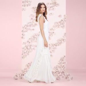 Lauren Conrad Runway Tiered Ruffle Maxi Dress